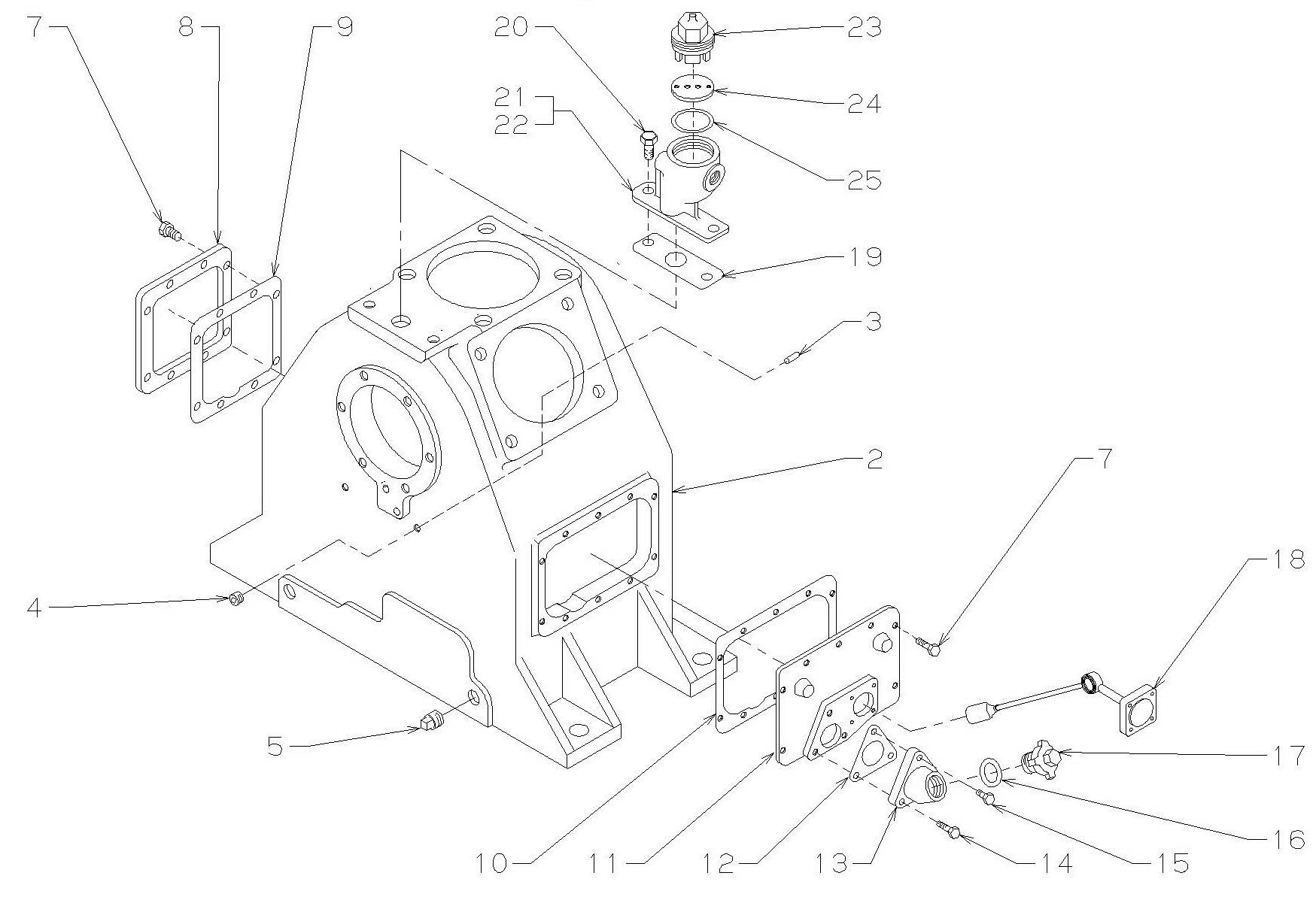 WBO Compressor Crankcase